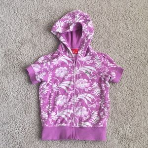 Puma Girls Terry Hoodie In Small